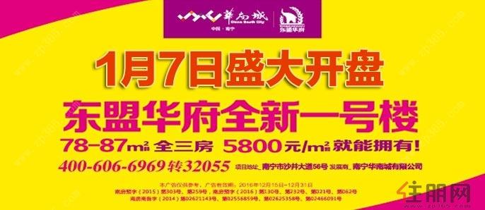 1月17日江南区看房团:华南城·东盟华府