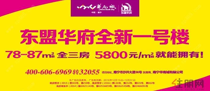2月12日江南区看房团:华南城·东盟华府