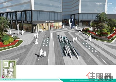 4月29日江南区投资路线:天健领航大厦