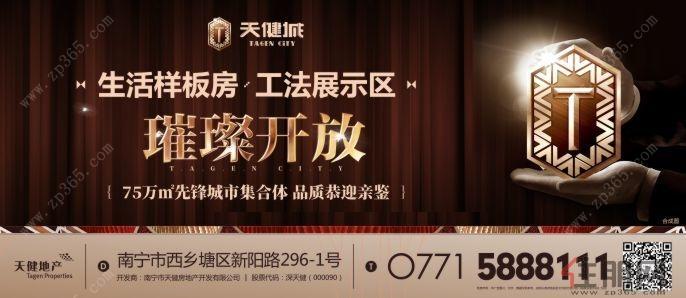 11月25日西乡塘区看房团:天健城