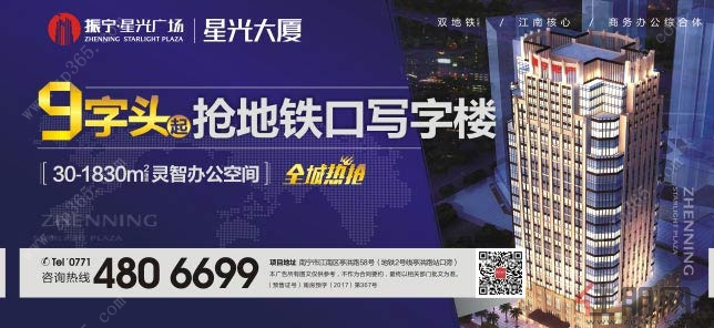 8月18日江南区投资团:振宁星光大厦