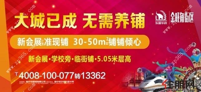 8月20日江南商铺投资团:华南城·金旺角街区
