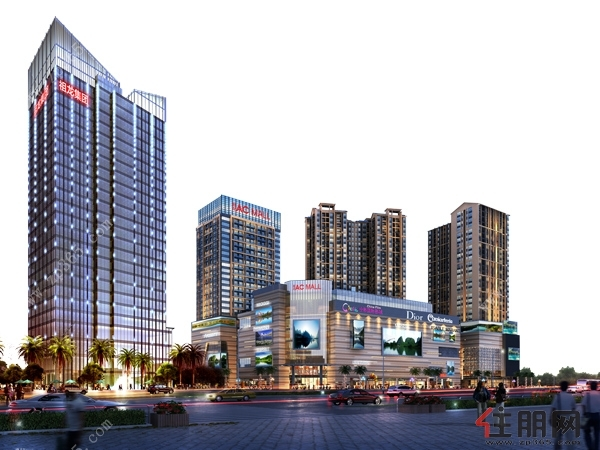 【祖龙ACMALL】56-88㎡(建面)  70年产权公寓 30元看房补贴活动!
