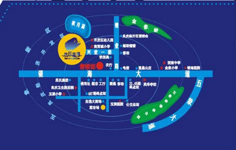 南宁秋月蓝湾90平方的结构图