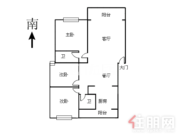 云星尚雅名都精裝三房戶型方正采光好僅租2200 看房方便
