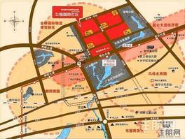 中海国际社区吾悦广场  那考河国家湿地公园  附近 拧包入住