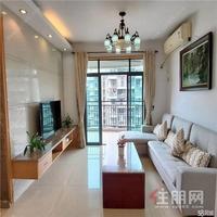安吉万达华府,实拍欧式三房家具齐全 很温馨 迷你景观 拎包