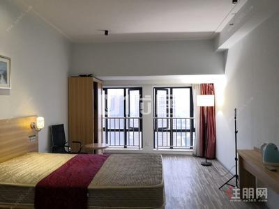 沙井大道 -江南华府一房一厅租1400 华南城旁 价到即签