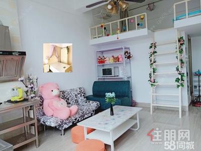 望园路-东葛广园路青年国际精装复式一房一厅