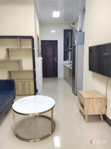 良庆镇,总部基地  单身公寓(云星钱隆)拎包入住,配齐家具家电