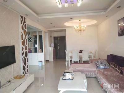 钦南区-江滨豪园,精装2房,租1400元,拎包入住