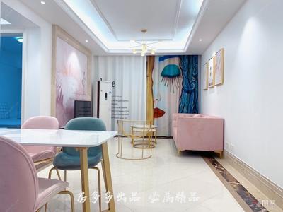 良庆周边-五象总部基地 地铁口精装一房一厅 拎包入住 温馨居家招租