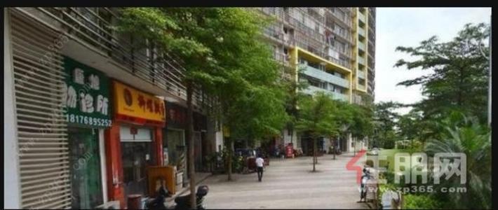民族大道-上東國際住宅一樓鋪面,空房帶閣樓