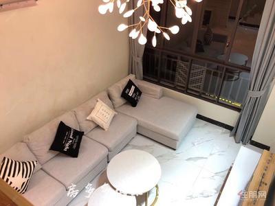 良庆镇-天誉城 一房一厅直租精装公寓 领包入住家电齐全