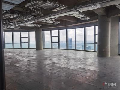 青秀区-业主直租总部基地写字楼楼下临街餐饮铺,起租价50元/平