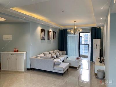 南宁-全新装修 首租 东盟商务区 马来西亚园 精装三房 配齐有钥匙