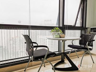 金湖广场-1300元/月租独立办公室4人间,配套会议室,正规写字楼