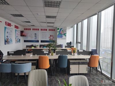 平乐大道-地铁三号线站口精装370平办公室出租6+1户型