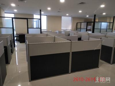 东葛路延长线-青秀万达甲级写字楼办公场地招租,精装修,办公桌椅、水电、网络均配套齐全,来了即可办公。