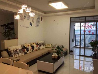 那洪大道 -汇东星城 精装修三房 2100/月 干净整洁拎包入住 布艺沙发液晶电视