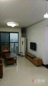 那洪大道 -盛天领域 高楼层三房2200/月 中装修 液晶电视 干净整洁 拎包入住