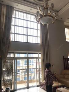 凤岭北-蓝山上城237平,中空楼中楼招租,可居住可办公