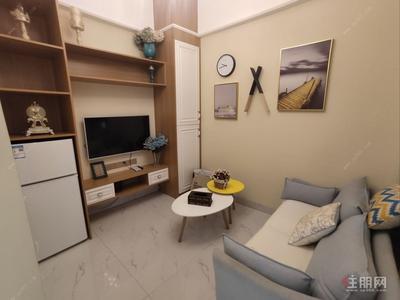 五象大道-总部基地就近上班舒适小窝精致装修一居室急租,拎包入住!