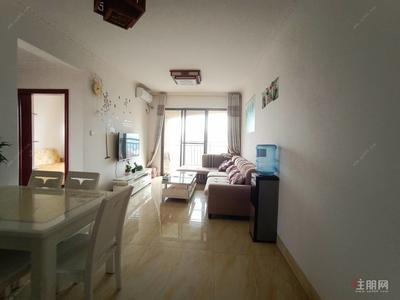 白沙大道-租1600普罗旺斯温馨2房 高楼层 户型方正 采光 拎包入住