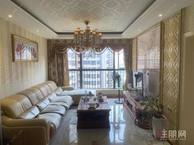 明秀東路-豪華裝修三房僅租1800月家電齊全拎包入住榮和山水綠城隨時看房