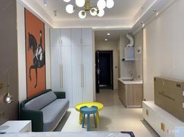青秀万达上海新天地旁,绿地广场一居室全新招租!干净整洁