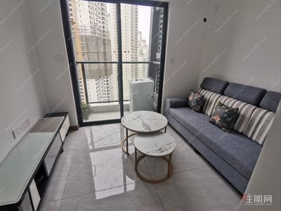 五象大道-五象大道万达茂旁天誉城高层精装两层复式公寓全新家具首 租
