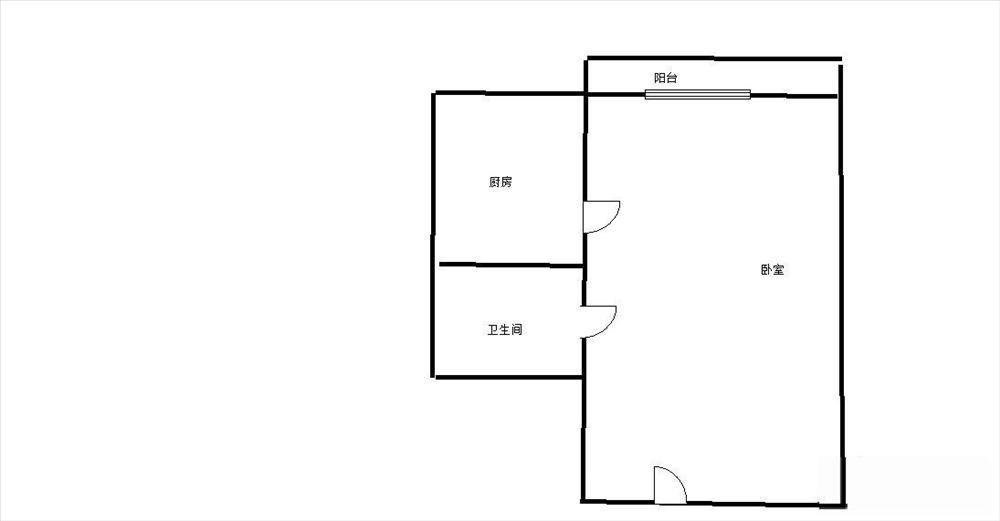 衡阳路小學金色盛天单间配齐1400拎包入住地铁1号