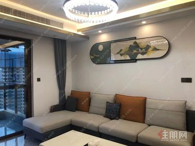 鳳嶺北,100%真實房源 真實圖片 榮和悅瀾山25樓 全新豪裝4房招租3500/月