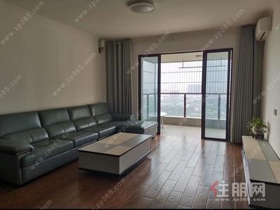 鳳嶺北-100%真實房源 真實圖片 榮和悅瀾山141平4房精裝配齊招租3600/月 在34樓