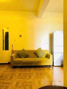 竹溪大道-广源国际 一房一厅 1***0每月 配齐出租 带阳台 厨房 独立卫生间