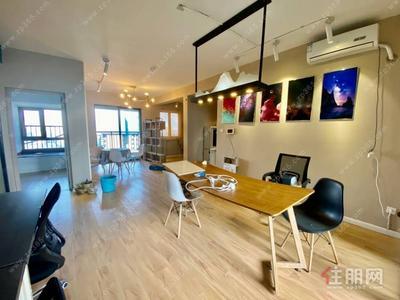 星光大道-江南万达 126平 办公室出租 配齐办公用品 精装修 4000每月