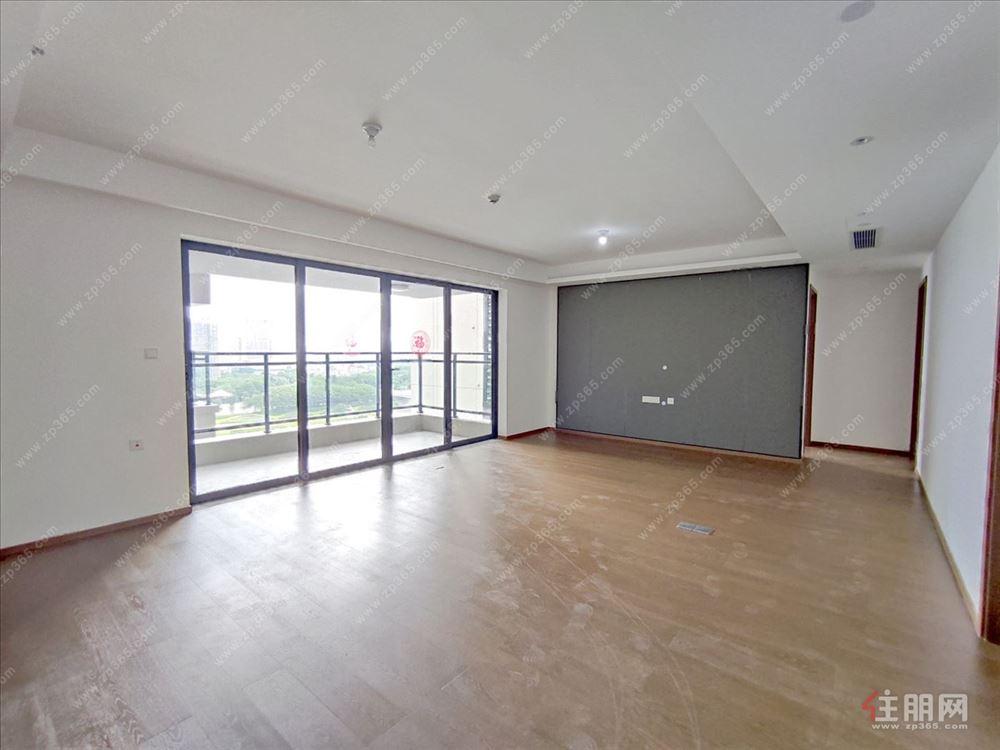 华润中山府4室2厅全新出租,大型万象汇之上,江景房可办公