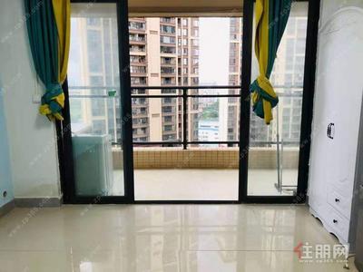 青秀区-柳沙 雍景湾 一房一厅 1400 中介费仅200 带独立阳台 可随时看房