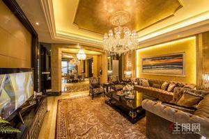保利君悦湾 国宾区豪宅 赠送140平超大阳台 自带泳池 一层一户 一线江景