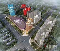 南宁五象东宝能有阳台有燃气的LOFT层高5.09米 自己就是商务中心!