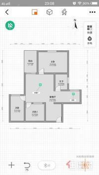 电梯小三房 总价67万 首付13万