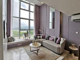首付12万达茂公寓 loft买1层送1层 江景楼中楼 地铁口