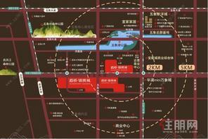五象湖(路桥壮美山湖)  地铁2号延长线 300米