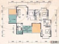 普罗旺斯-毛坯4房-可做5房-南北通透-小区中央位置