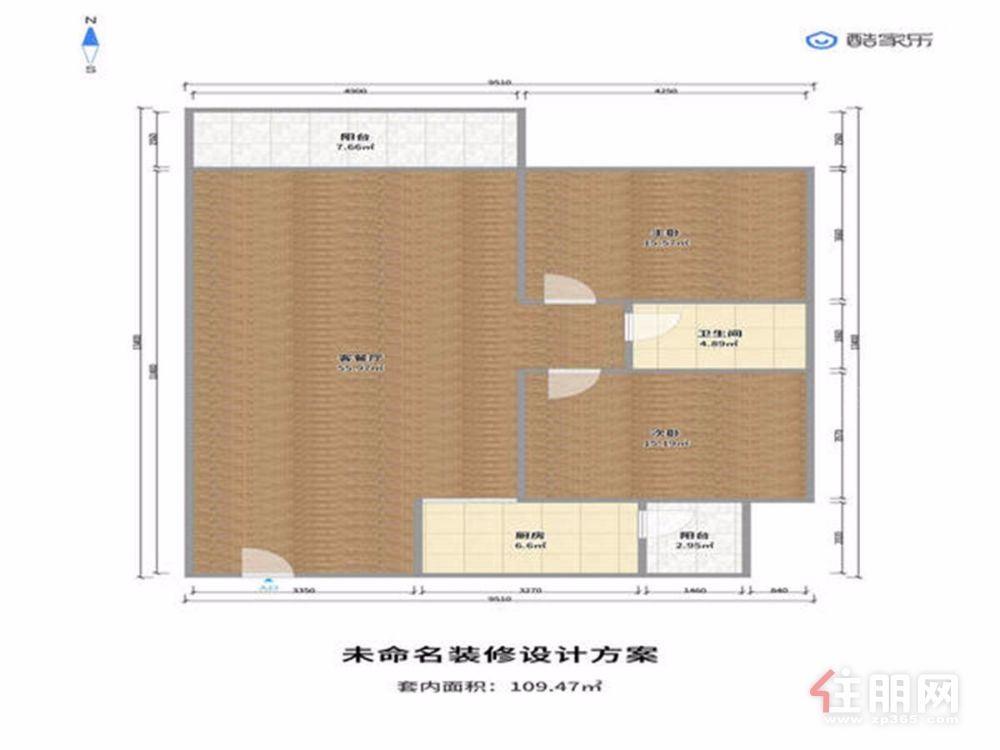 钦州东站恒大绿洲两房两停2房2厅40万