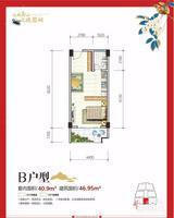 象山区一房一厅一卫47㎡仅需15.6万-桂林山湖小筑