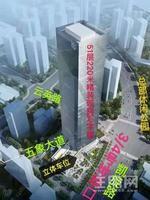 【合景国际金融广场】现房写字楼,88--2000平米,精装写字楼,单价13000元,绿地中心旁