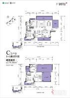 青秀山下一线江景楼中楼(锦悦青山)南宁大桥旁(3号线地铁)