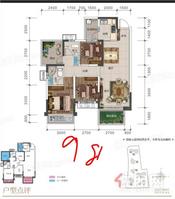 五象新區《盛邦瓏悅》98平精裝3房首付30萬,天譽城,天譽花園旁 龍光玖譽湖 萬科公園里