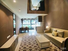 精裝兩房直接拎包入住五象總部 恒大國際中心復式loft公寓